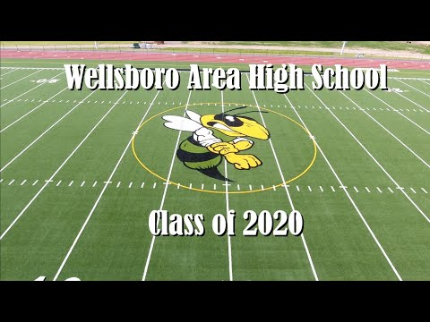 Wellsboro Area High School Commencement for the Class of 2020