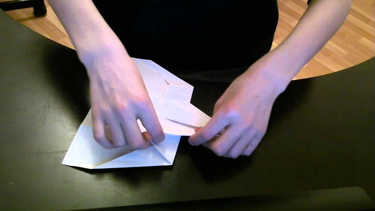 comment faire un avion en papier concorde youtube. Black Bedroom Furniture Sets. Home Design Ideas
