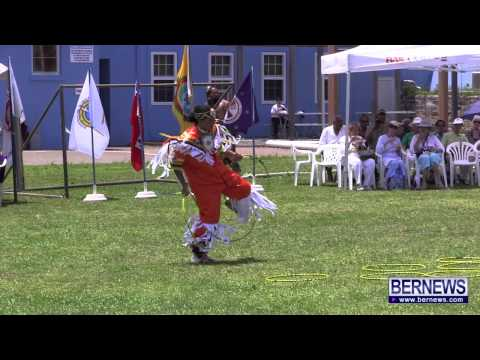 Hoop Dance At Bermuda Pow Wow, June 22 2013