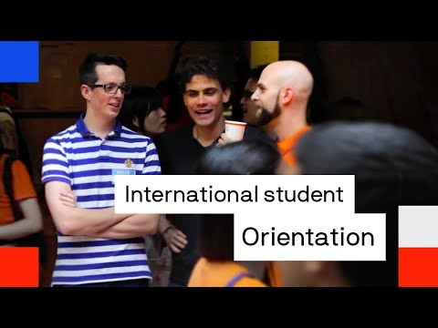 UTS Orientation for international students