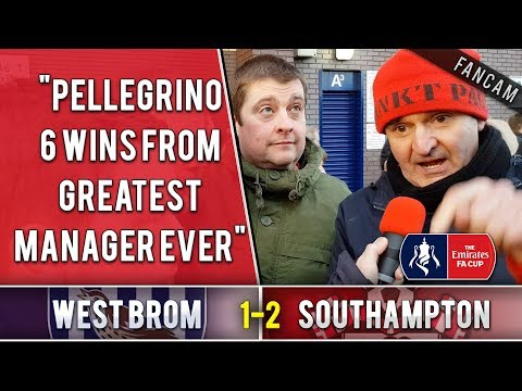 """""""Pellegrino 6 wins from greatest manager ever!"""" 