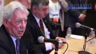 Declaraciones completas de Mario Vargas Llosa en Venezuela