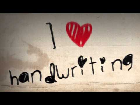After Effects Tutorial: Hand writing animation (final result)