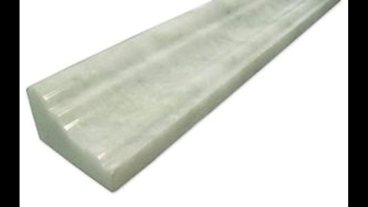 Ming Green Marble Chair Rail Crown Molding