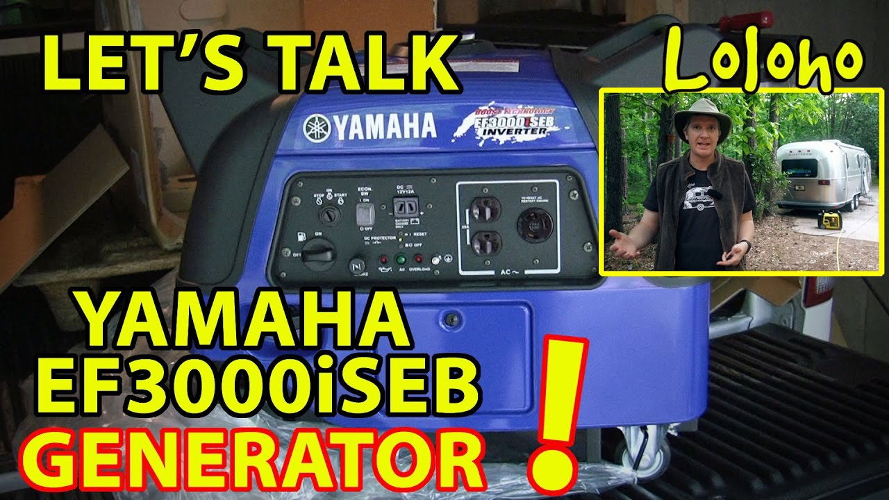 How S Our Yamaha Ef3000iseb Inverter Generator Working With Our Rv Youtube