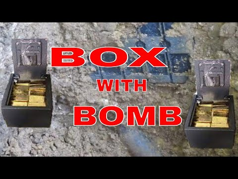 YAMASHITA TREASURE BOX FOUND IN THE PHILIPPINES AND BOMB FOUND UNDER THE BOX