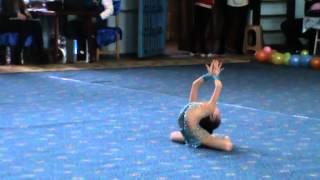 Дербенёва Неонила 2007 г.р. упражнение без предмета