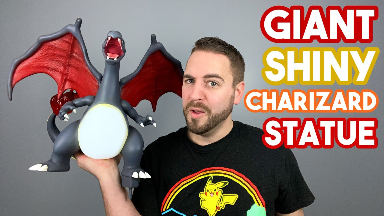 GIANT 2 FT TALL ✨ Shiny Charizard 🔥 Statue | Pokémon Unboxing by Vitamin Studio