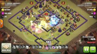 Clash Of Clans ✮ TH11 War Strategy - Over Powered Raid ✮ You Can Guess This!