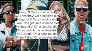 Diet Lyric Video Tiwa Savage x Reminisce x Slimcase x DJ Enimoney