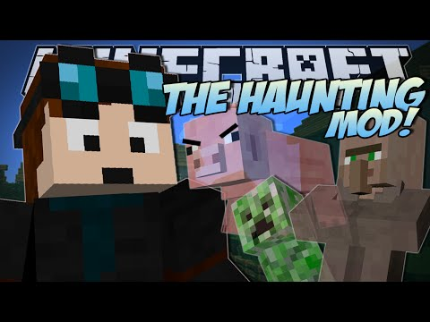 Minecraft | THE HAUNTING MOD (Creepy Mini-Mob Ghosts!) | Mod Showcase