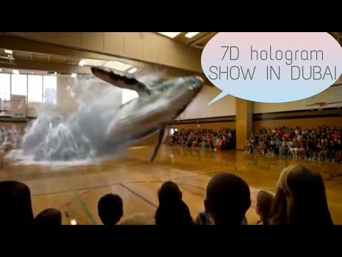 7d Hologram Technology Ama2zing Show In Dubai Tech Savvy World
