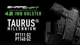 Best IWB Holster for the Taurus PT111/140 G2 - Alien Gear Holsters