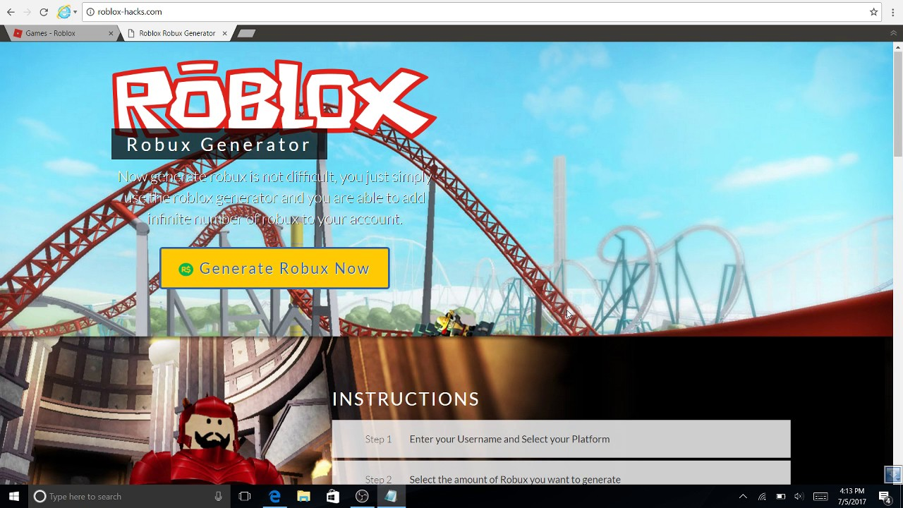 Free Robux Games That Work 2017 How To Get 0 Robux For Free 2017 Really Works Youtube