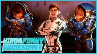 Mass Effect: Andromeda Review in Progress - Kinda Funny Gamescast Ep. 112 (Pt. 1)