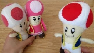 Make your own Toad Plush