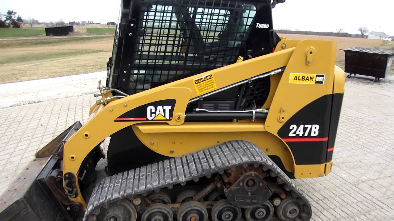 Caterpillar 247b For Sale Youtube