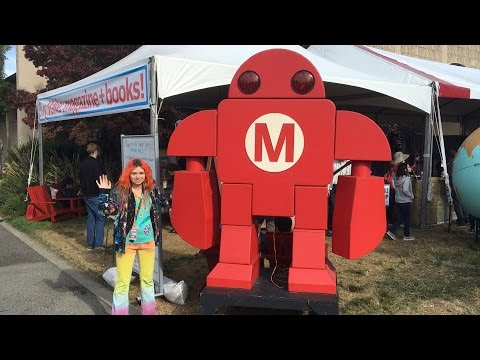 Maker Faire 2016 (Bay Area) 3d printing, Robotics, Laser Cutting & MORE!