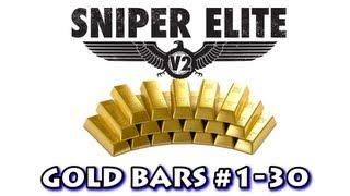 Sniper Elite V2 - All Gold Bar Locations (Part 1)