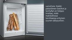 Siemens, Kalustepeitteiset jääkaapit ja jääkaappipakastimet, iQ500, KI87SAD30