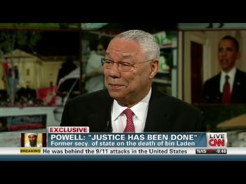 CNN Official Interview: Colin Powell on Osama: Justice has finally been done