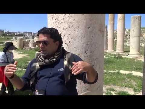 Jerash Tourist info about Remains