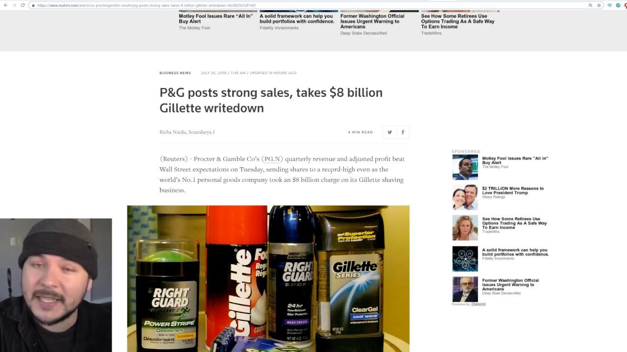 Gillette Hit With 8 BILLION Dollar Loss, But Is It REALLY Get Woke Go Broke?