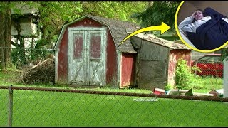 After Someone Heard Desperate Cries From The Shed Next Door, Police Discovered A Sinister Secret