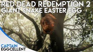 Red Dead Redemption 2 - GIANT Snake Easter Egg Video