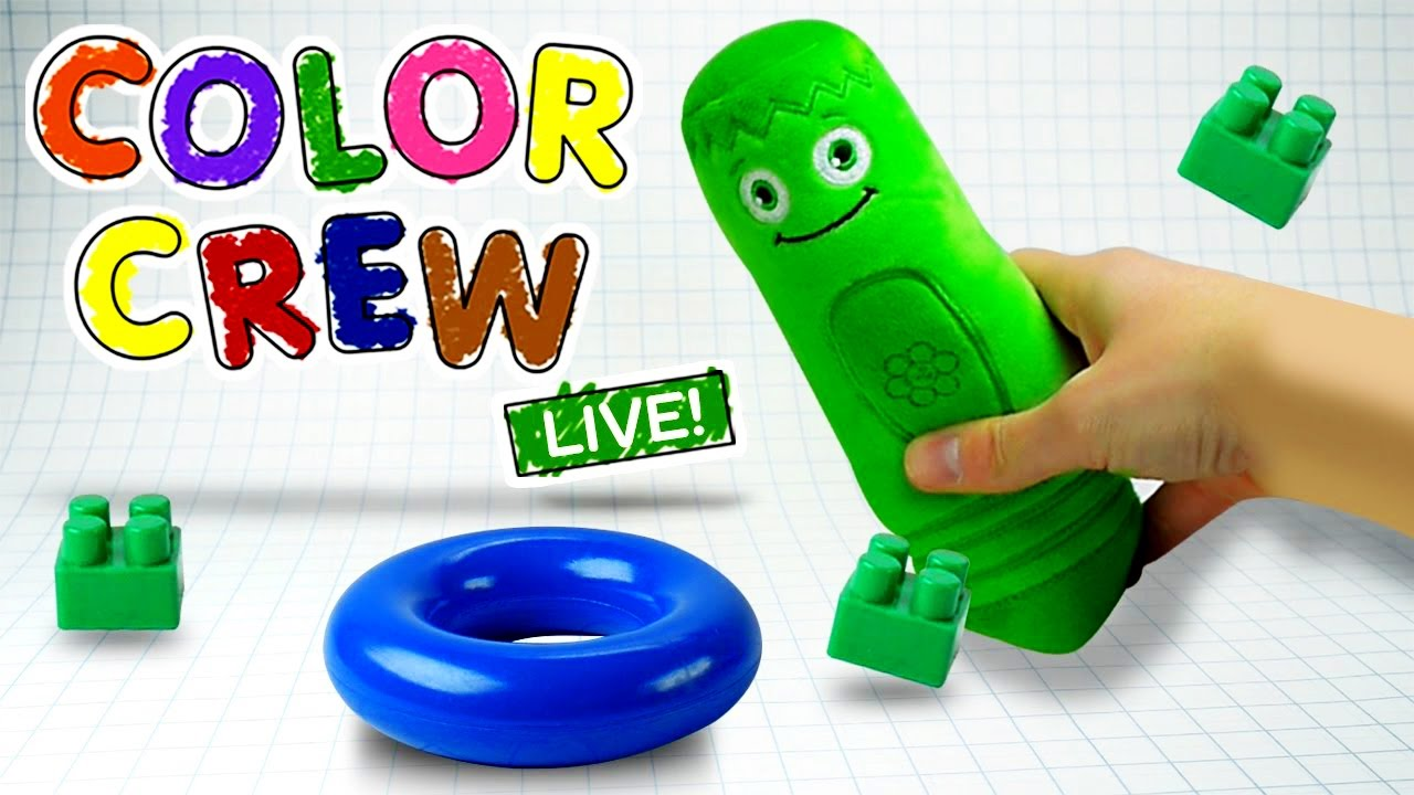Learn Colors With Colorful Toys Colors For Toddlers
