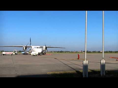 Lao Airlines - Wattay Domestic Airport, Vientiane, Laos