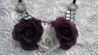 How to Create a Statement Bib Necklace at Home | Bib Necklace Tutorial