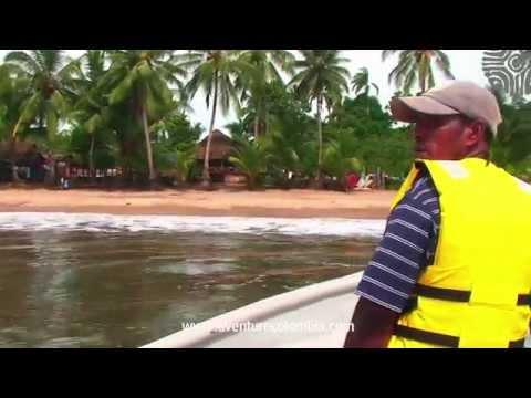 NUQUI CHOCO - Playas de Guachalito, Coqui, Jovi y Termales - Costa Pacifica Colombia