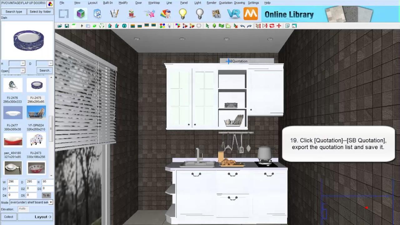 KD Max Demo Of SB Furniture