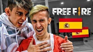 JUGANDO FREE FIRE EN ESPAÑA !! - Robleis