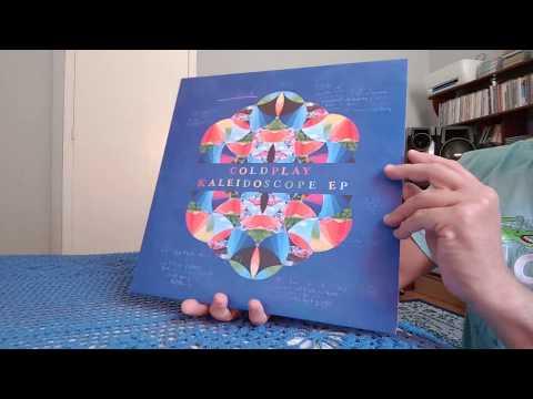 coldplay - kaleidoscope ep - vinyl unboxing