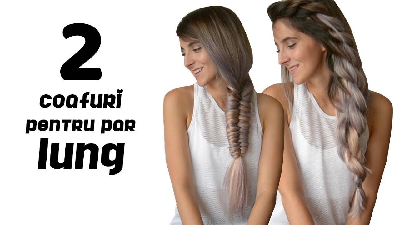 2 Coafuri Pentru Par Lung Cu Extensile De La Irresistible Me Youtube