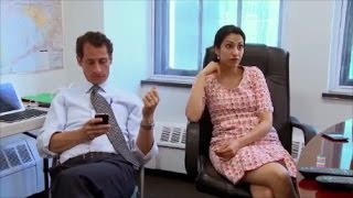 Was Weiner Sexting in front of Wife Huma Abedin?