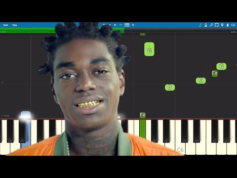 Kodak Black - There He Go Piano Tutorial thumbnail