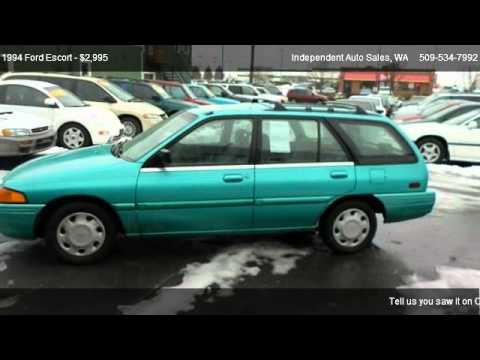 1994 ford escort wagon for sale in spokane valley wa 99212 youtube. Black Bedroom Furniture Sets. Home Design Ideas