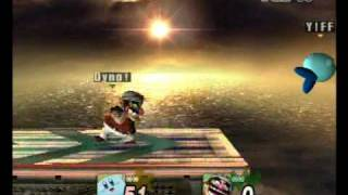 Waba games brawl tournament May 2, 2009 - Dynomite (Wario) Vs. Yiff (Kirby) [1]