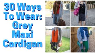 How To Style A Maxi Cardigan -…