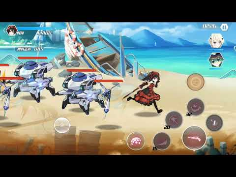 Probando A Natsumi Y Kurumi -  Date A Live Spirit Pledge Capitulo 9 -Gameplay En Español -ShidouGame