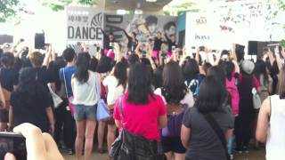 [Fancam] 120204 LOLLIPOP F (棒棒堂) - 電司(Dance) @ IMM Garden Plaza , Singapore