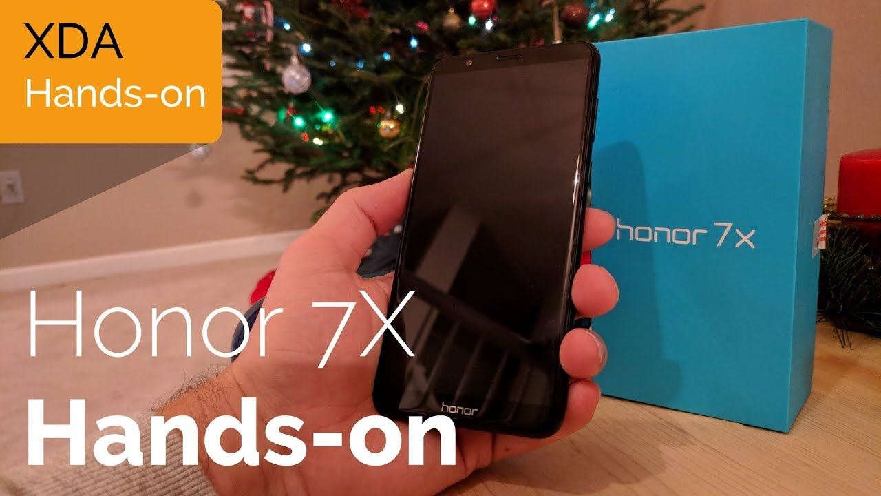 Honor 7X Unboxing and Hands-on