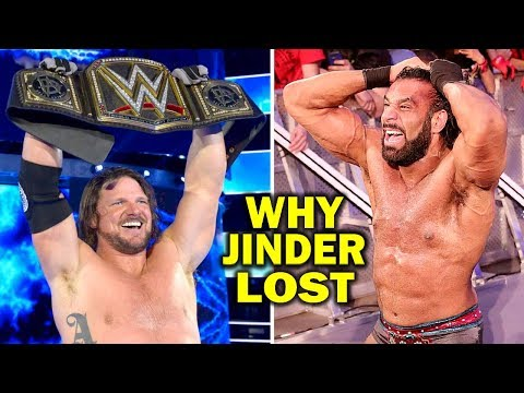 5 Reasons Why Jinder Mahal Lost the WWE Championship to AJ Styles