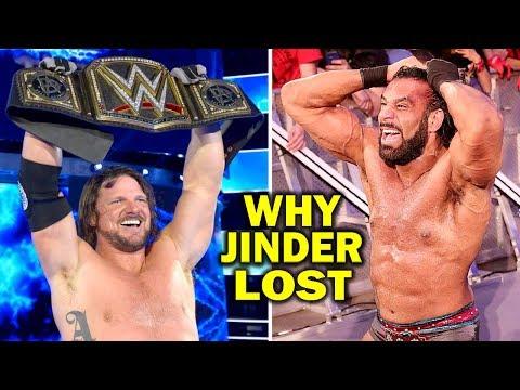 5 Reasons Why Jinder Mahal Lost the WWE...