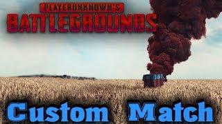 custom Match - PlayerUnknown's Battlegrounds Стрим