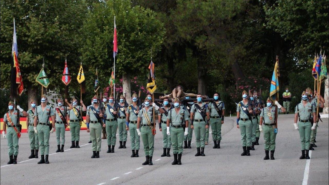 La Legión Ronda: Acto homenaje a los Caídos con motivo del Centenario