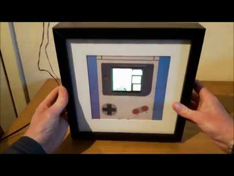 The Retropie Gaming Picture Frame Youtube